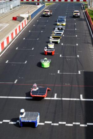 European Solar Challenge - parade